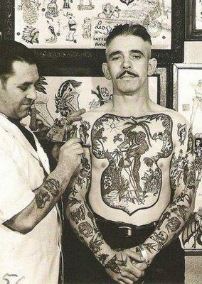 Historia da tatuagem antiga